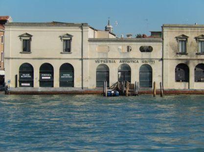 Glass furnace Murano
