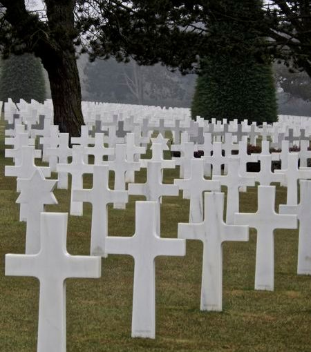 Memorial Day and Pointe duHoc