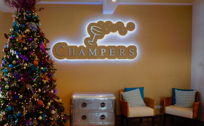 Champers Barbados – Great Food, Great Scenery
