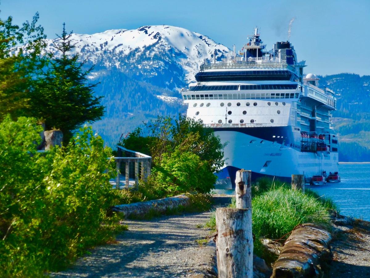 Cruising Port Icy Strait Point (ISP),Alaska