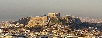 The Acropolis inAthens
