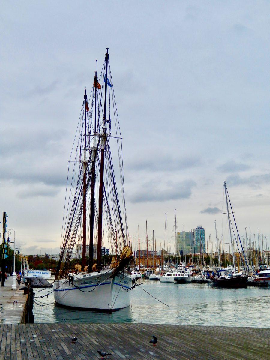The Port ofBarcelona