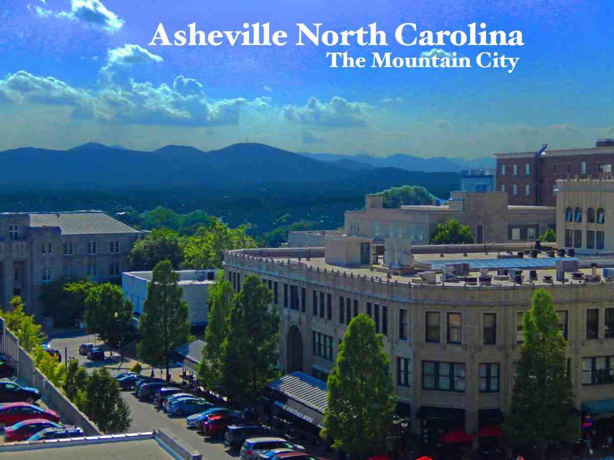 Asheville Heart of the North CarolinaMountains