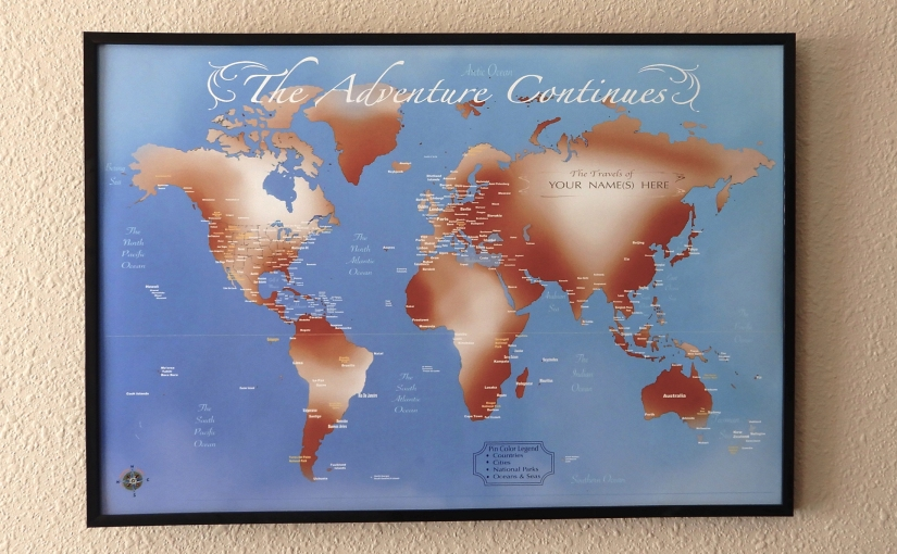 Travel Maps For Christmas