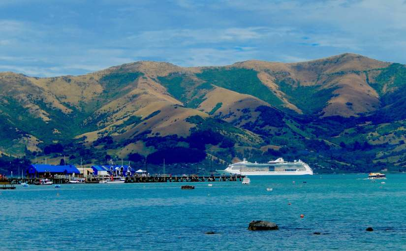 Port of Call Akaroa, New Zealand