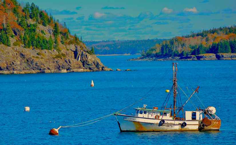 The Cruise Port of Bar Harbor Maine