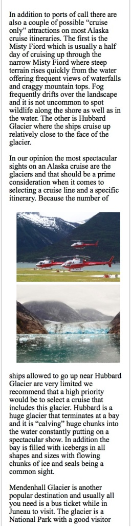 Helicopter tours leaving for trips up on a glacier.