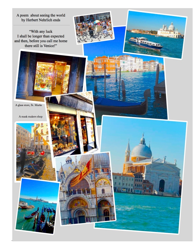 Photographic impressions of the remarkable city of Venice, Italy. The experience of a lifetime...