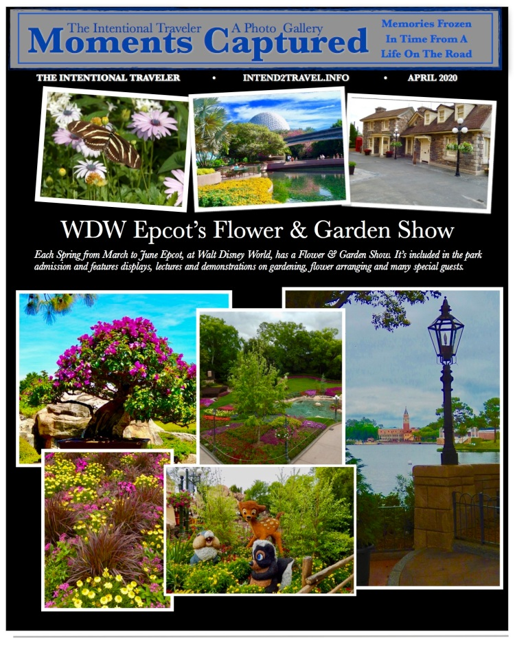 The horticulture and landscaping departments at WDW look forward to this event each year to show off their talents. Their exhibits include an incredible number of topiaries, bonsai, gardens and demonstrations.