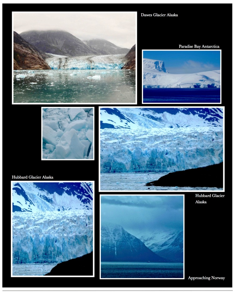 Photographs of glaciers from Alaska to Antarctica