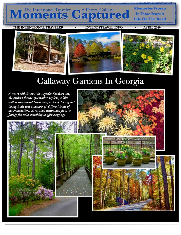 A resort with its roots in a gentler Southern era, the gardens feature spectacular azaleas, a lake with a recreational beach area, miles of hiking and biking trails and a number of different levels of accommodations.