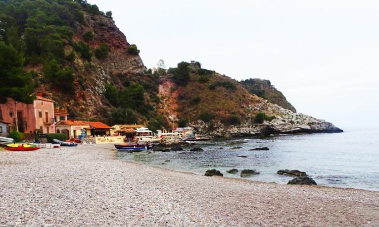 the harbor at Taormina, Sicily