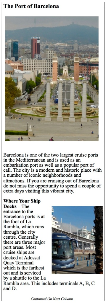 city views of vibrant Barcelona