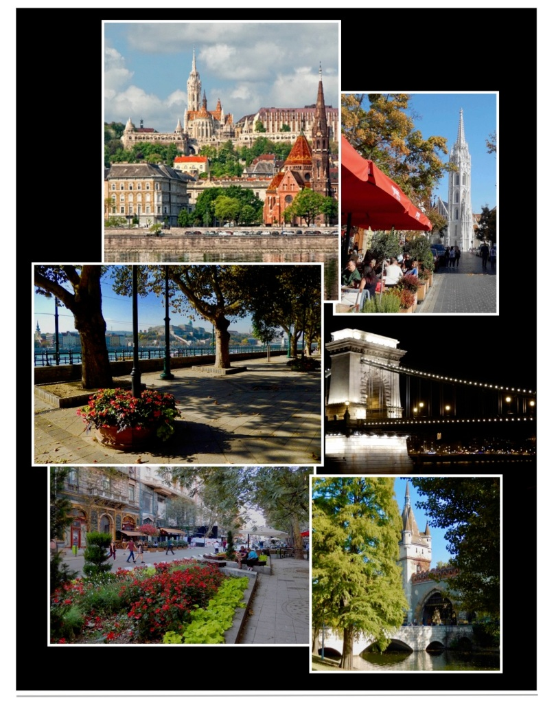 Budapest is the heart of Hungary providing great parks and riverside sidewalks.